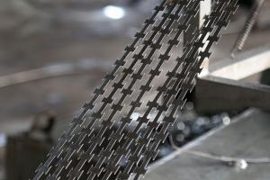 Egoza barbed tape production