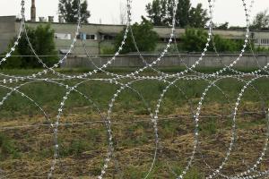 Проволока натяжная и плоский барьер безопасности Егоза